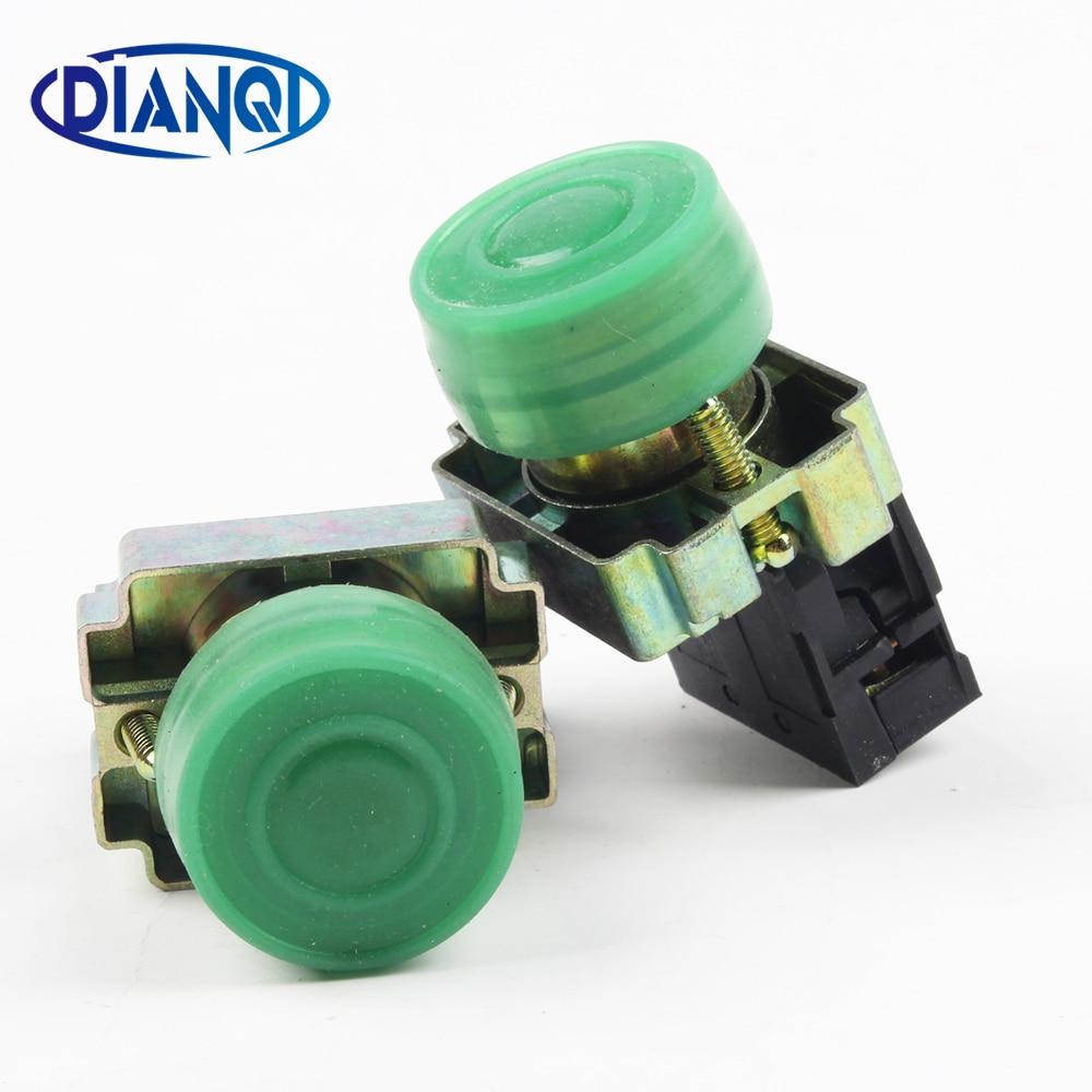 DIANQI عشرة الدعاوى XB2 bp31 XB2-bp31 مفتاح بـزر دفع مقاوم للماء 22mm مؤقتة