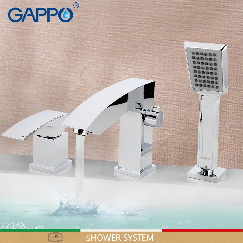 GAPPO-صنبور دش الحمام ، حوض الاستحمام ، حوض الاستحمام ، نظام دوار