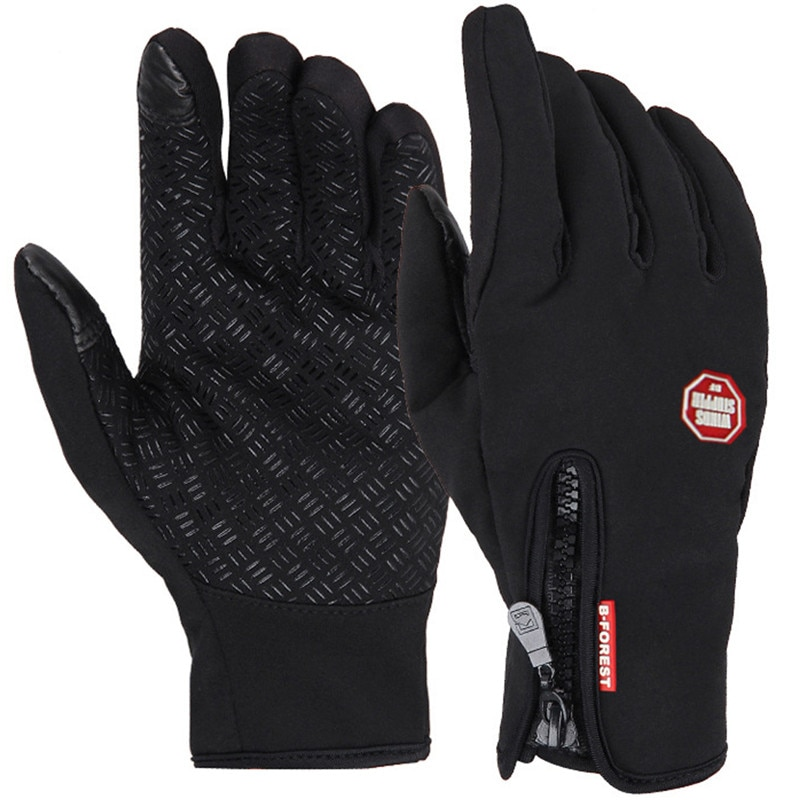 Uni Touchscreen Winter Thermal Warm Cycling Bicycle Bike Ski Outdoor Camping Hiking Motorcycle Gloves Sports Full Finger