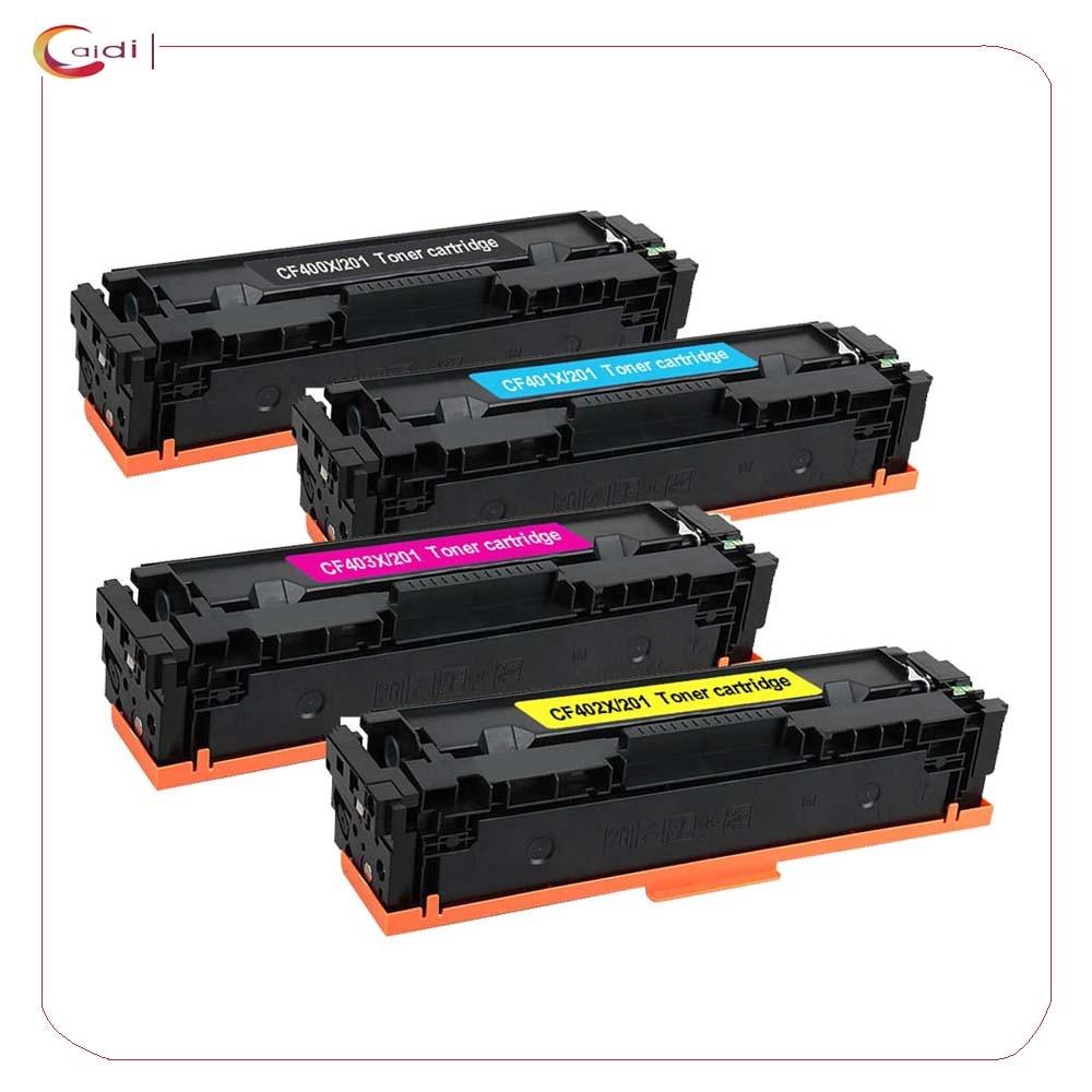 Compatibel Voor CF400 CF400A CF401A CF402A CF403A CF201A 201A Voor Hp Laserjet Pro M252dw M252n Mfp M277dw M277n Toner Cartridge