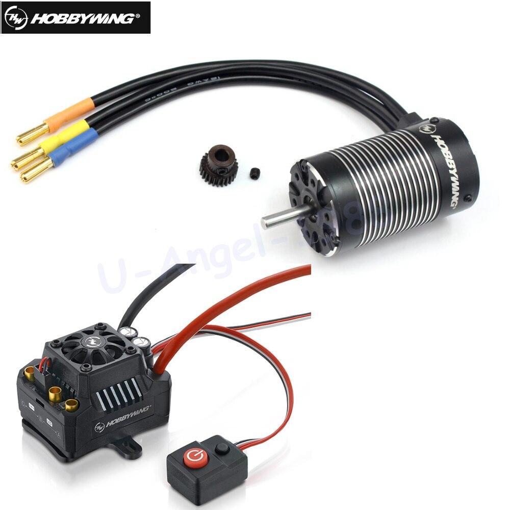 Оригинальный бесщеточный мотор Hobbywing EZRUN MAX10 SCT 120A ESC + 3660 G2 3200KV/ 4000KV/4600KV, для радиоуправляемого автомобиля 1/10