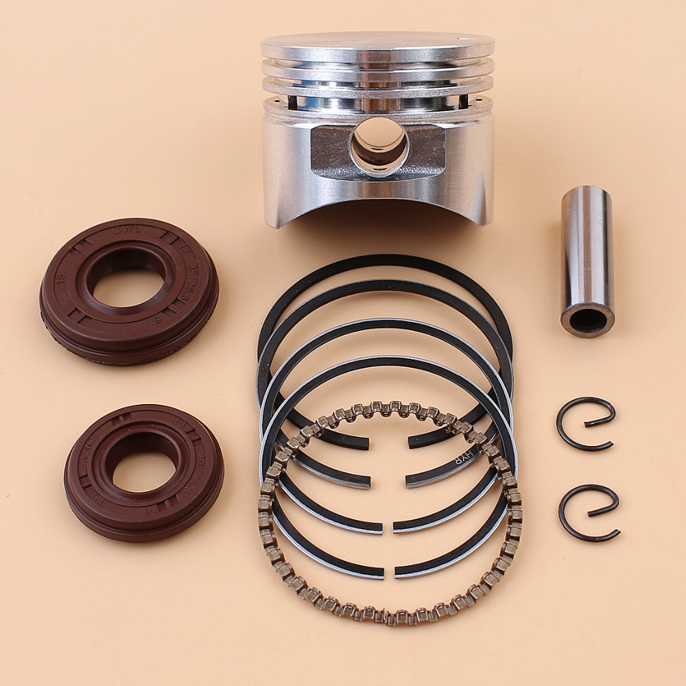 crankshaft oil seal for honda gxh50 4 stroke motor crankcase cover engine block crank shaft 17 27 5mm repl 91202 hc5 005 35mm Piston Rings Crankshaft Oil Seal Fit HONDA GX25 GX25T GX25N GX25NT 25cc 4-Stroke Small Engine Gasoline Motor Brush Cutter