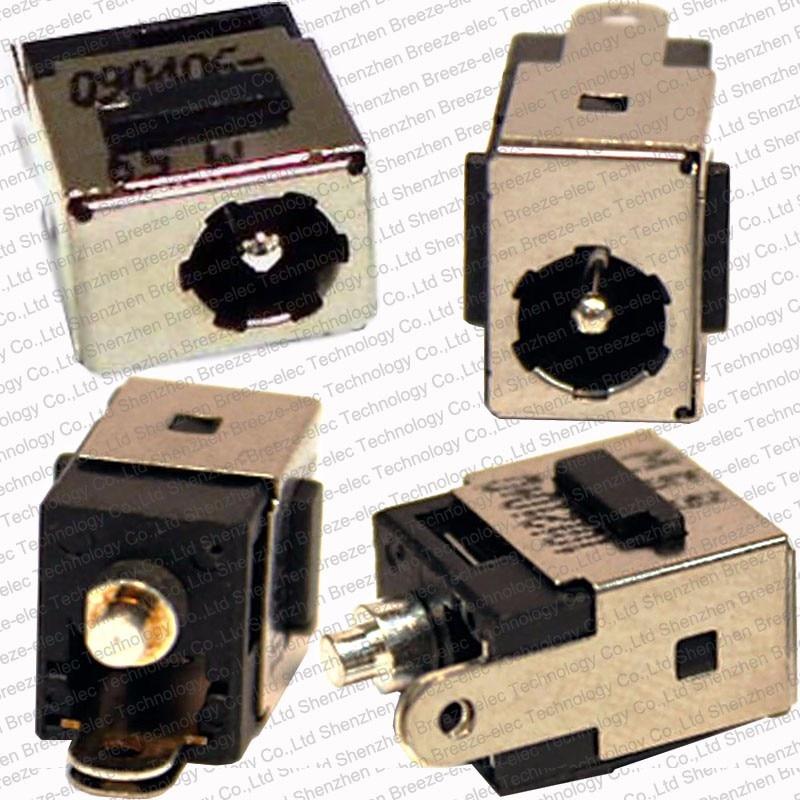 20 peças/lote frete grátis 5.5*1.65mm original portátil dc jack para hp pavilion dv5000 dv8000 compaq presario v5000 series
