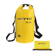 20L étanche stockage sac sec en plein air plongée natation Rafting kayak sac à dos