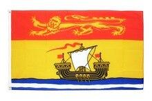 Johnin-drapeau du canada et du nouveau-Brunswick   Drapeau du canada 60x90cm suspendu