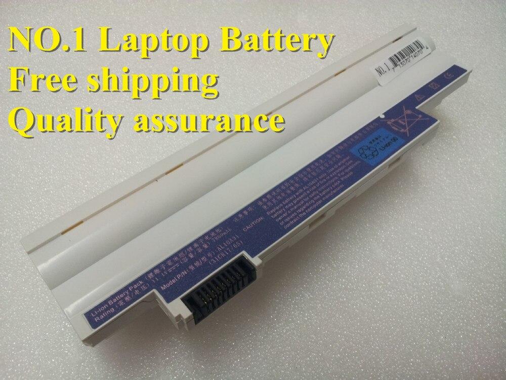 New 7800mAh  Battery for Acer Aspire One AOD255 AOD260 D255 522 722 D255E D257 D257E D260 D260E AL10A31 AL10B31 AL10G31