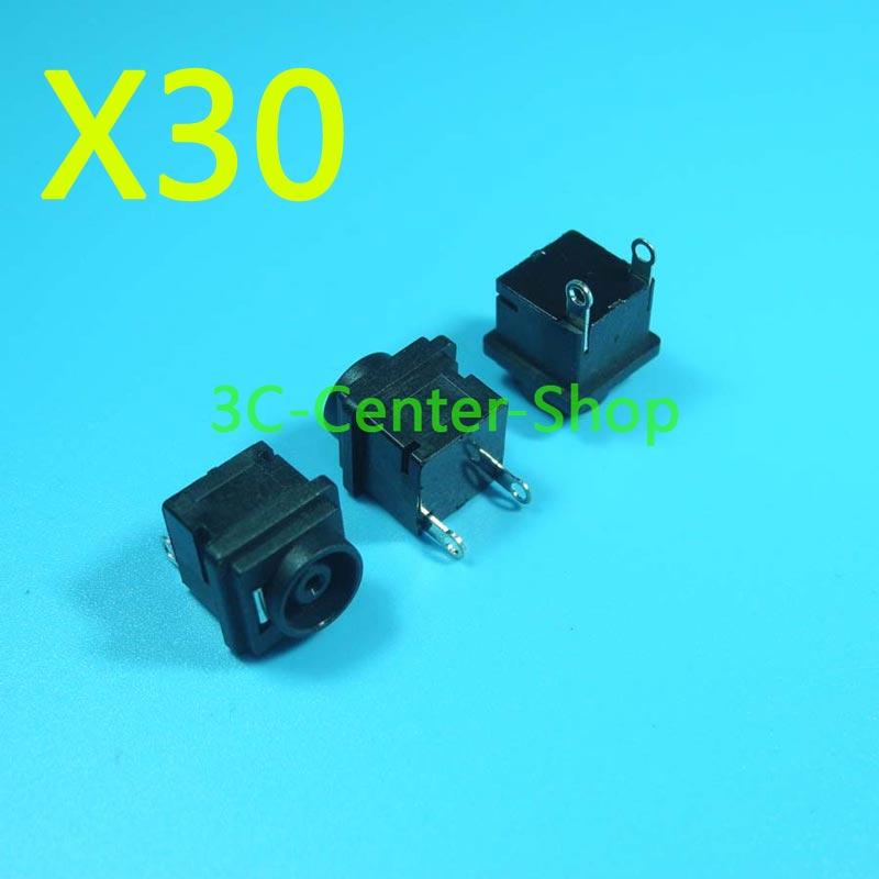 30 PCS New Laptop dc power jack Conector Para Sony VGN-BX BX396XP AR VGN-CS CS13 CS17 CS19 3G2T 3C2L + Rastreamento número