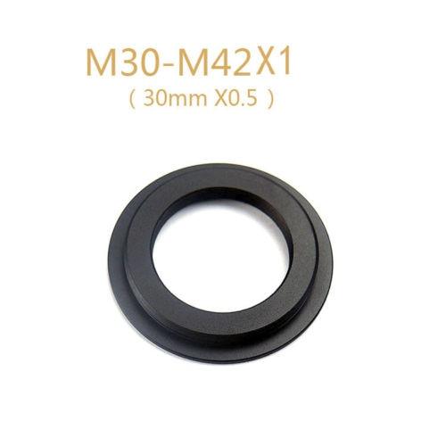 Anillo de montaje del adaptador de la cámara para la lente M30 x0.5 a m42 x1 de Schneider stehell de Alemania envío gratis