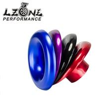 "LZONE - 3"" Short RAM / Cold Air Compressor / Intake Inlet Velocity Stack / Turbo Horn Kit  JR4403"