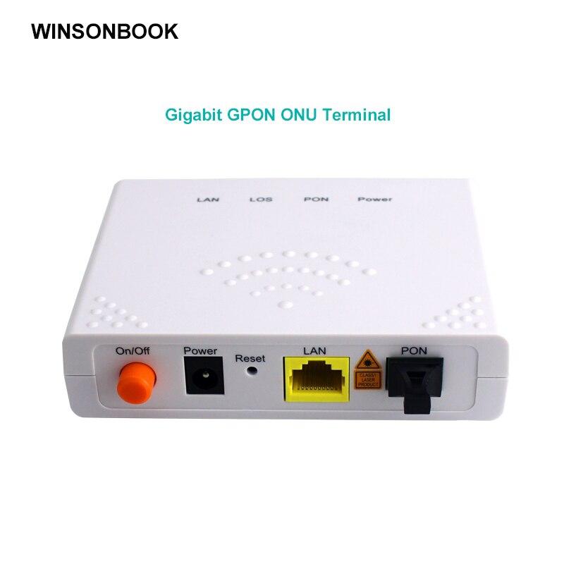 GPON ONU FTTO 1GE GPON 1 порт FTTH ONU ONT Одноместный LAN порт OLT 1,25G Gpon волокно для дома FTTB