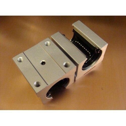 كتلة محمل خطي SBR30 SBR30UU ، محمل خطي مفتوح 30 مللي متر ، كتلة منزلق ، أجزاء جهاز التوجيه CNC ، 12 قطعة