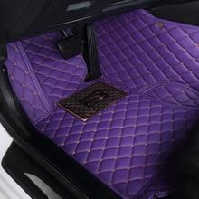 Alfombrilla de suelo para ford fusion fiesta mk7 s-max ranger explorer 5 Mondeo kuga, accesorios a prueba de agua, alfombras