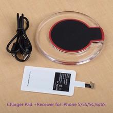 Chargeur de charge sans fil Module Pad + récepteur pour iPhone X11pro max XS MAX XR X 8 7 6 6s plus pour Samsung S10 S9 S8 plus typeC
