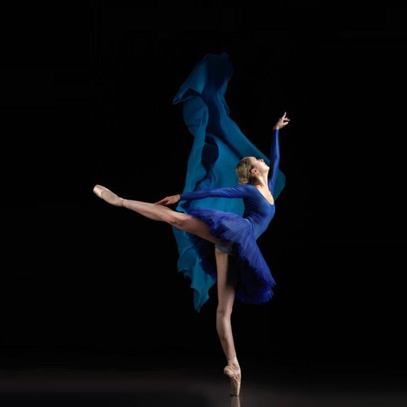 Adulto profissional ballet cisne lago royal azul violeta roxo cintura elástica tutu bailarina três camadas de malha tule mini bola saia