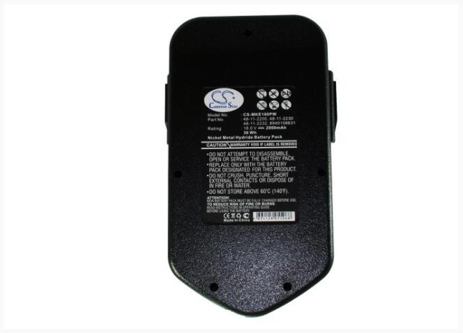 Cameron Sino 2000mAh batterie pour AEG BBM 18 STX BDSE 18 STX 18 T Super perceuse visseuse sans fil BS 18 X PN 18 X PN18X SB2E 18 STX