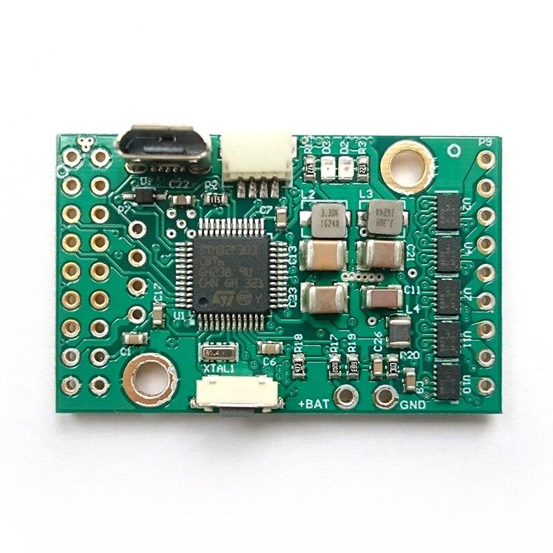 BaseCam SimpleBGC 32-битный крошечный I2C 2-IMU набор Revision B Alexmos 3-осевой Карданный контроллер маленький энкодер nacelle контроллер PCB