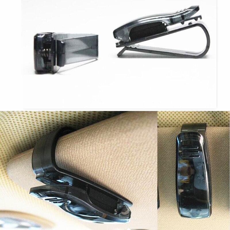 Car Styling Glasses Card Ticket for seat leon fr renault clio 4 passat b7 toyota auris reno megane 2 focus 2 fabia kia sportage
