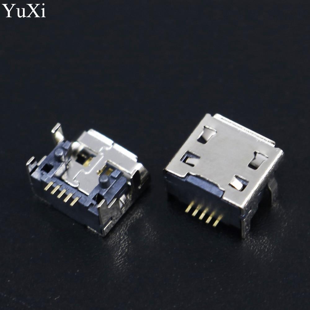 10 pçs para jbl carga aleta 3 alto-falante bluetooth nova fêmea 5 pinos 5pin tipo b micro mini usb porto de carregamento jack soquete conector