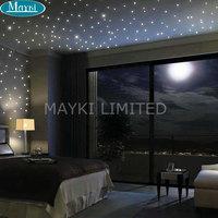 Maykit 32W RGB Led Fiber Optic Star Light Engine Multicolor Dual Ports Color Changing Led Fiber Optic Lights For Starry Ceiling