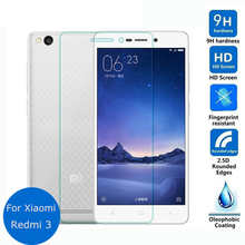 For Xiaomi Redmi 3 3S 3X Tempered Glass 9H High Quality Protective Film Explosion-proof Screen Protector for Redmi3 Pro 3S Prime