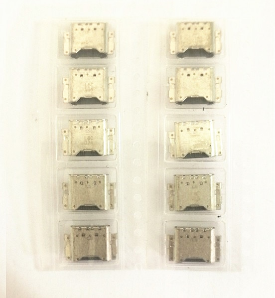 10pcs USB cargador de carga conector de puerto de la base de carga para Samsung Galaxy Tab 8,0 Tab A2 T380 T385 A9 A920 A920F 2018 conector jack