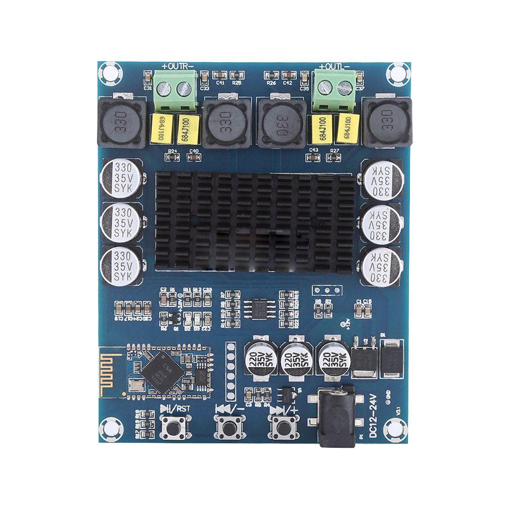 TPA3116D2 120W * 2 receptor de Audio inalámbrico Bluetooth 4,0 placa amplificadora Digital