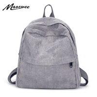 Женский Молодежный маленький однотонный Повседневный Рюкзак, школьный ранец для девочек-подростков, винтажная сумка для ноутбука, однотон...