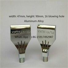 "1/4"" Aluminum Alloy Air Knife Nozzle, Wind Jet Nozzle,Spray Nozzle,Air Dry Remove Air Blowing Jet nozzle"