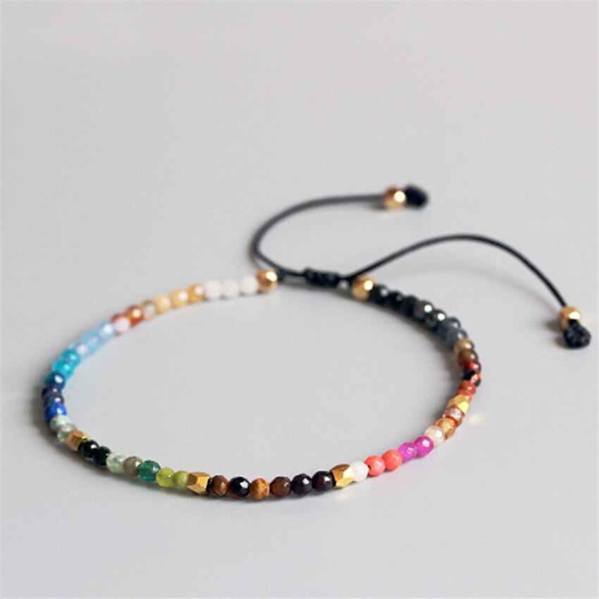 Hot sale 12 Constellation Lucky Stone Bracelets Bangles 3mm crystal beads best friend Gifts Bracelet lovers Hollywood Bracelets
