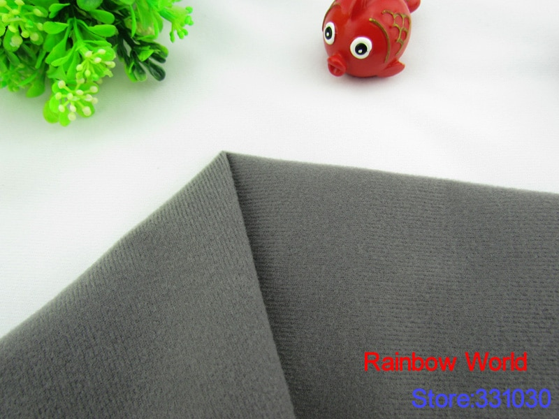 9297 # cinza adesiva fastener magia etiqueta tecido para diy costura brinquedos de pelúcia sofá velboa escovado fleece laço de veludo (1 metro)