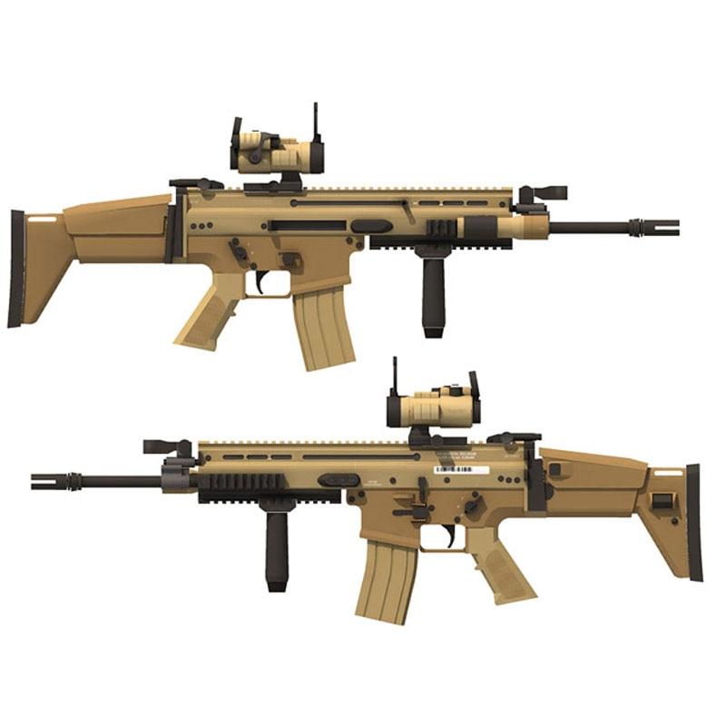 3D головоломка FN 1:1 MK16, ручная работа, рукоделие,