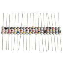 200 pièces/lot 1W 5% résistance assortiment Kit 20 valeur 10 ohm-1 M ohm résistance ensemble 22R 47R 100R 220R 470R 1K 4.7K 100K ohm résistance