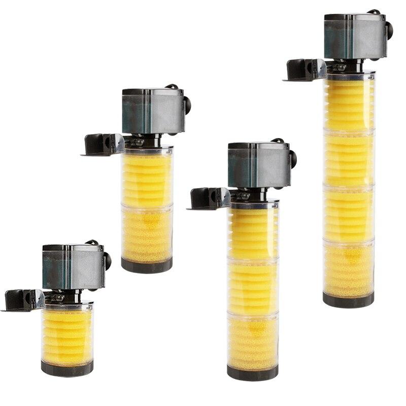 SOBO Super 4 Em 1 Interno de Água Fabricante De Onda Bomba De Aquário Filtro Do Tanque de Peixes Multifuncional Filtro Da Bomba de Circulação de Ar