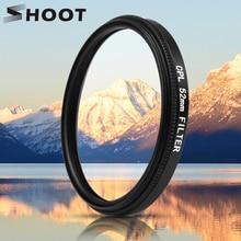 Jeu de filtres pour objectif CPL polarisant circulaire en verre Mental noir 52mm avec adaptateur de filtre pour GoPro Hero 7 6 5 Go Pro Action Cam