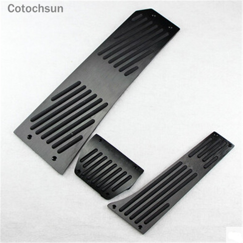 COTOCHSUN Car Black Pedal case For BMW 5-series F07 F08 F10 F11 F18/6-serie F06 F12 F13/7series F01 F02 F03/X3 X4 F25 F26 Z4 E85