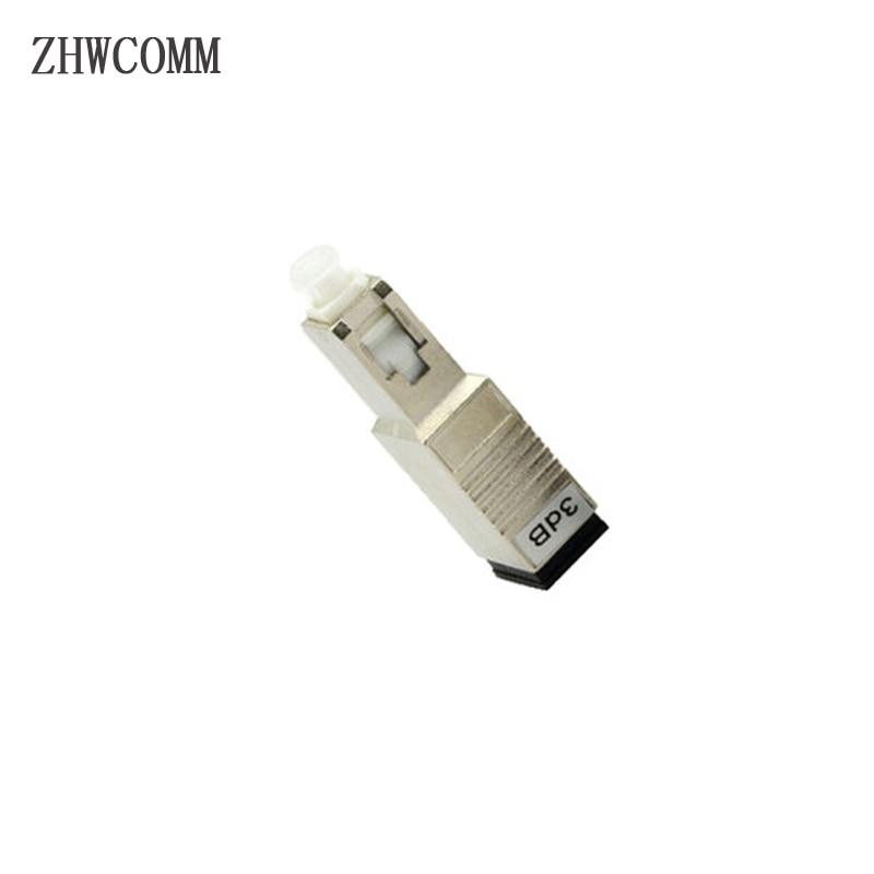 ZHWCOMM 10PCS SC UPC 3bd Simplex mode fiber optic Attenuator SC Male to Female fiber optic adapter Free shipping