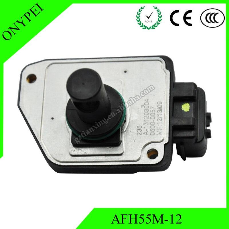 16017-3S500 16017-1S710 AFH55M-12 Sensor de flujo másico de aire para camioneta de cuerpo duro Nissan 2.4L AFH55M12 160173S500 160171S710