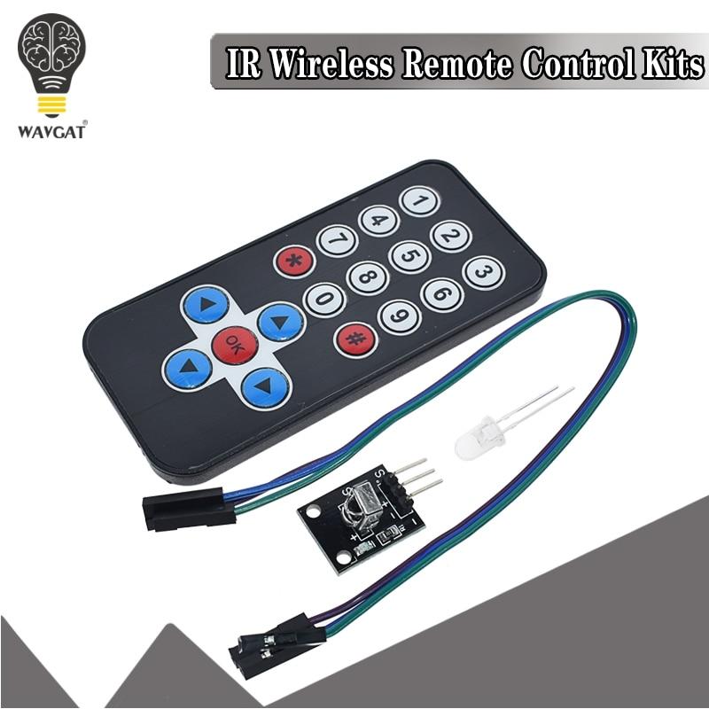 1 лот инфракрасный ИК беспроводной модуль дистанционного управления наборы DIY Kit HX1838 для Arduino Raspberry Pi