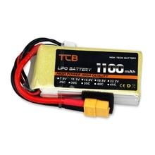 1100mAh 3S 11.1V 25C 35C 45C LiPO Battery optional XT60 /T-plug RC model Lipolymer power pack