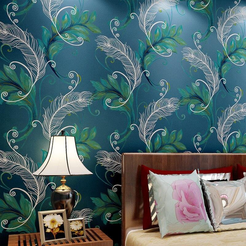 ZXqz 70 papel tapiz moderno de lujo de alta calidad mural 3D papel de pared papel pintado fotográfico bordado de flores en relieve chino