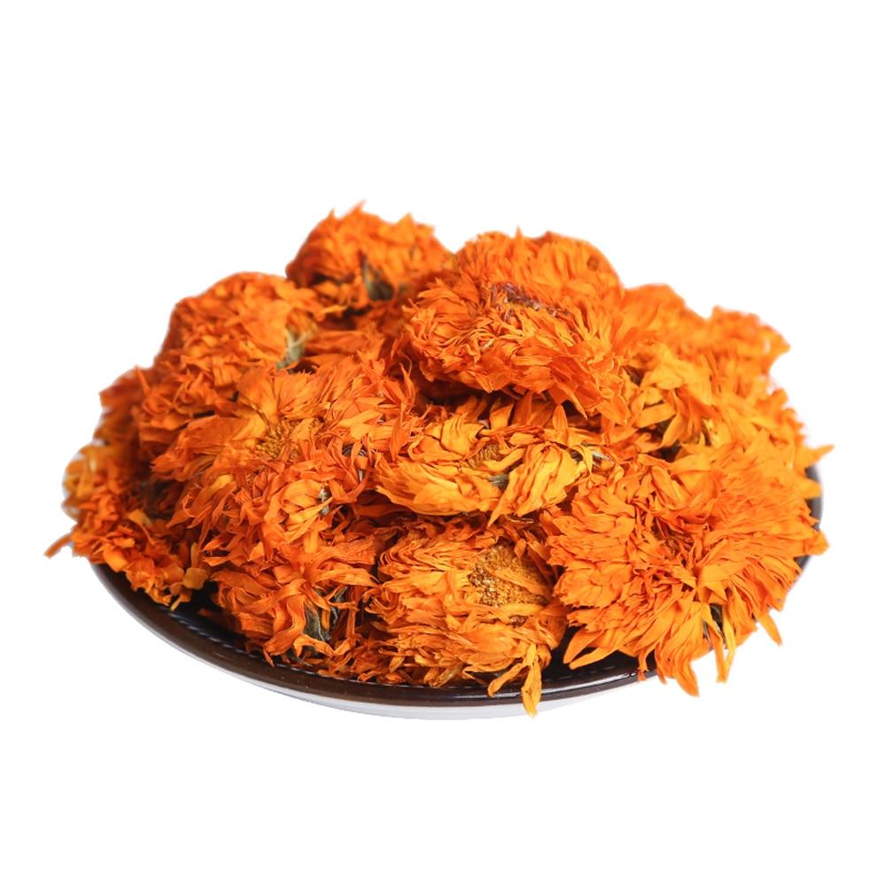 100g Freies verschiffen getrocknete Calendula officinalis blütenknospen & Marigold blumen knospen