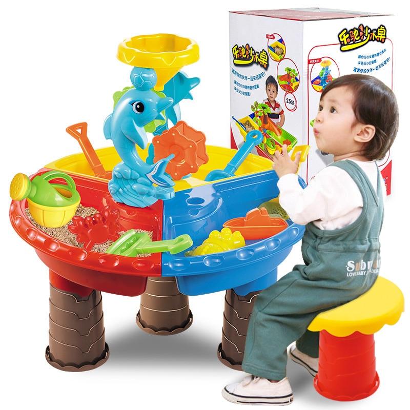 Los niños set de juegos al aire libre de agua y arena de juguetes para los niños de la actividad de la playa de arena juguetes de verano recién nacido bebé regalos de vacaciones