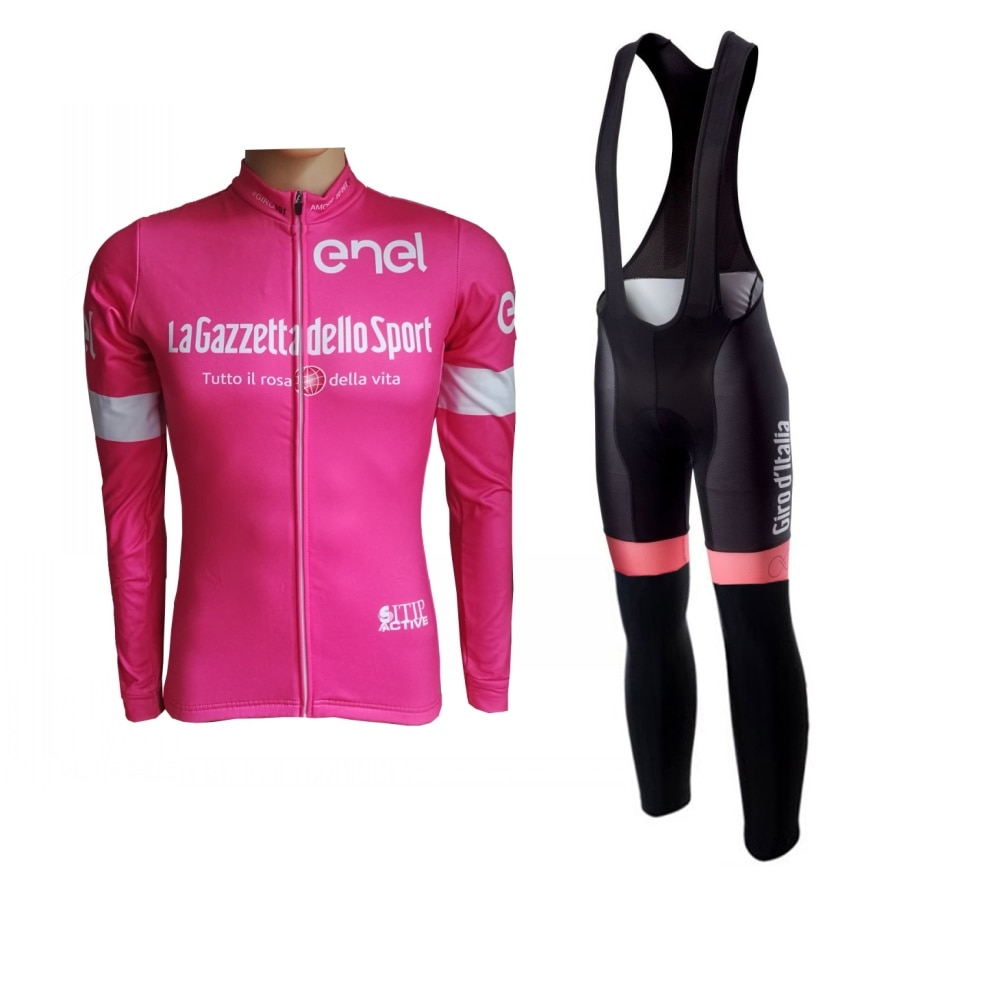 Equipo profesional de invierno, kits de camisetas de Ciclismo calentador de hombres,...