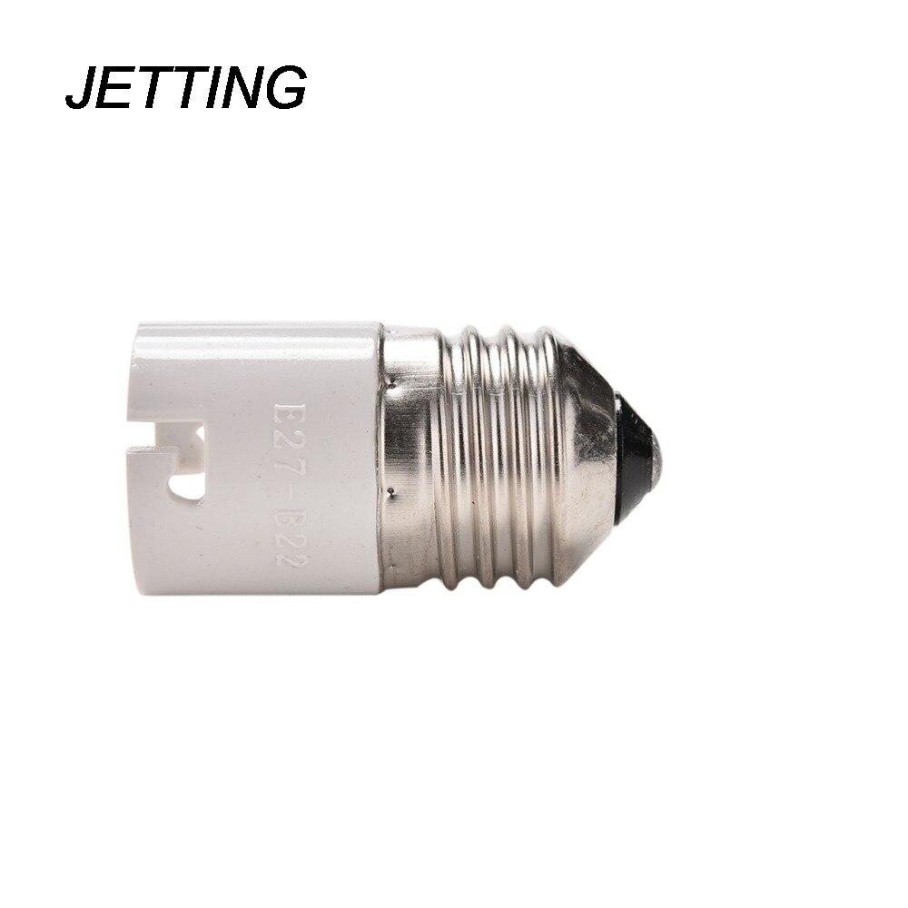 JETTING enchufe extensor portalámparas E27 a B22 Base Socket luz halógena LED Bombilla convertidor adaptador soporte de alta calidad