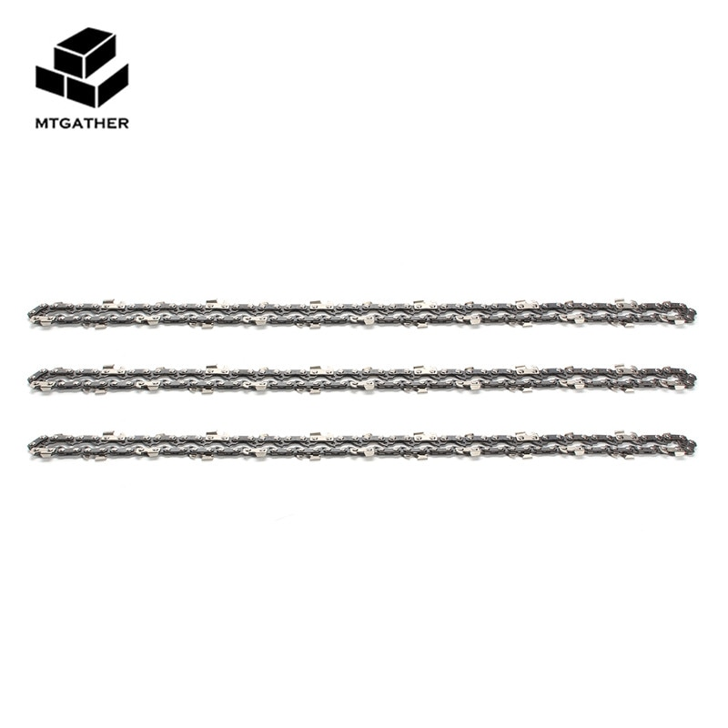 MTGATHER 3xchainsaw Semi Chisel цепи 3/8LP 050 52DL для 236E 14 дюймов бар цепные пилы для резки