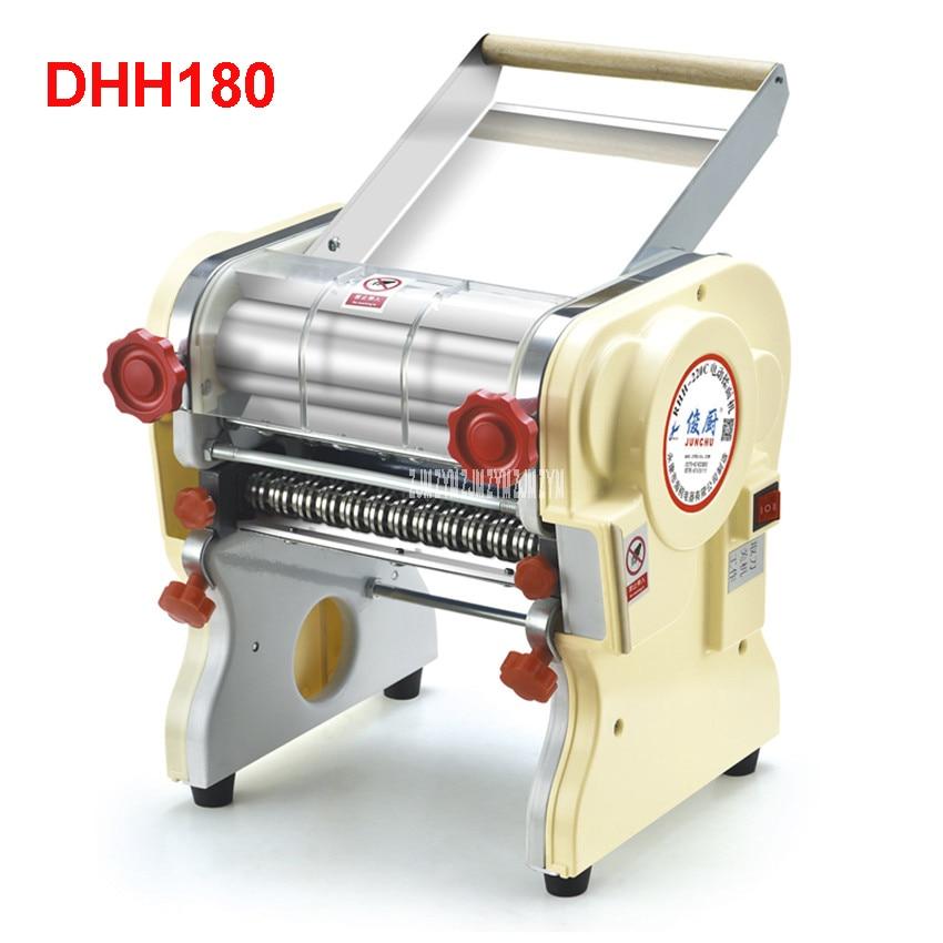 Máquina de prensado de pasta eléctrica doméstica de acero inoxidable DHH180, mecanismo Ganmian, fabricantes de fideos eléctricos comerciales 110 V/220 V