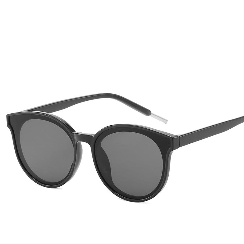 2019 New Sunglasses Korea Style Women round Sunglasses Fashion Glasses Retro Vintage Sunglasses for