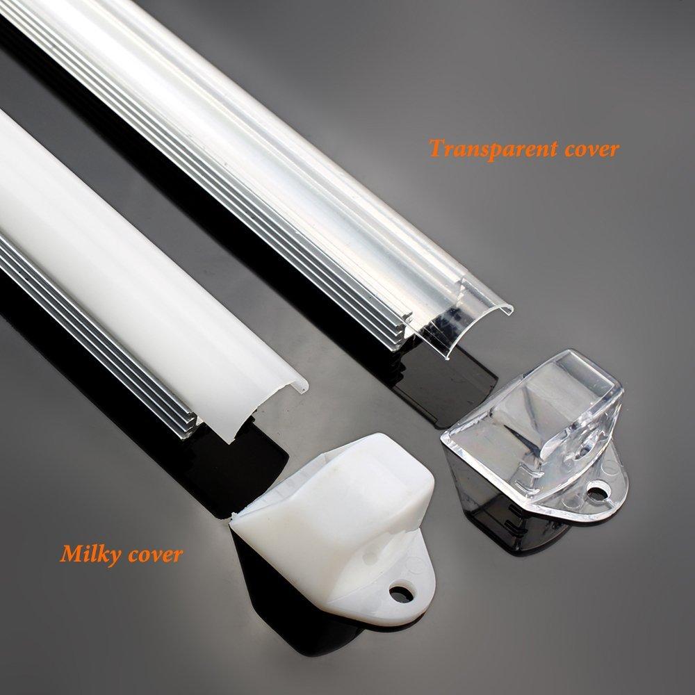100pcs/lot Super Chip Cool Whith Warm White 144LEDs/M 5730 5630 Led Rigid Bar Light LED Rigid Strip Max 25w DC 12V enlarge