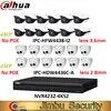 Dahua – kit de caméra IP NVR 1 pièce NVR4232-4KS2 et 12 lentilles IPC-HFW4438-I2 mm système réseau IPC-HDW4436C-A