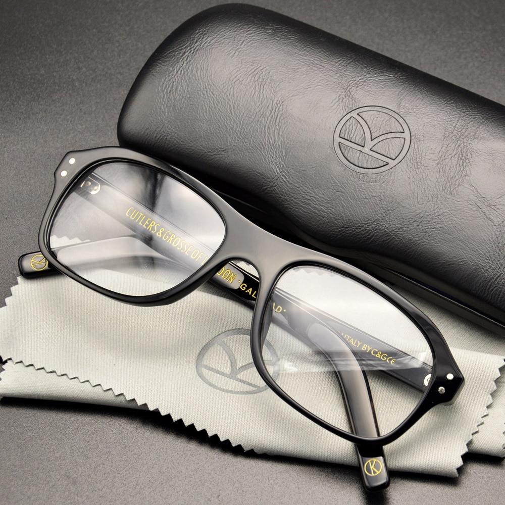 نظارات كينجسمان ذات الدائرة الذهبية الخدمة السرية نظارات كينجسمان ماركة هاري ايجزي نظارات إطار خلات نظارات على الطراز البريطاني